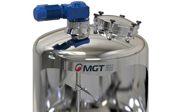 food mixing tank